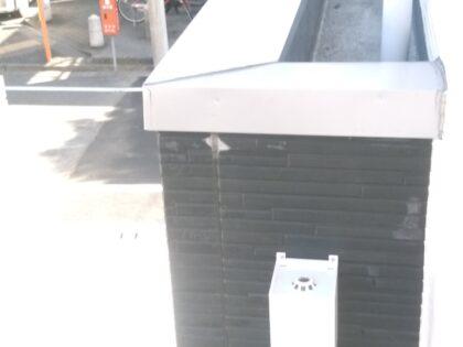 飯田産業  (府中市) の新築物件-玄関上部の確認