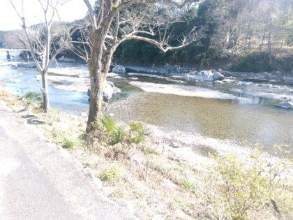 タクトホーム (あきるの市)の物件の前には綺麗な川が流れていました。