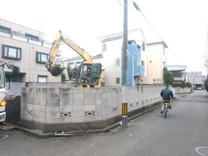 アーネストワン 相模原市の物件-解体工事中