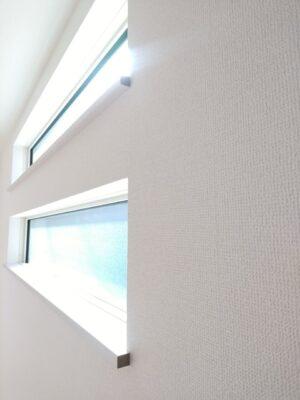 アイディホーム の新築 - 窓枠に化粧はされません