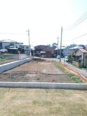 飯田産業 の新築 - 物件の南側は、現在は更地