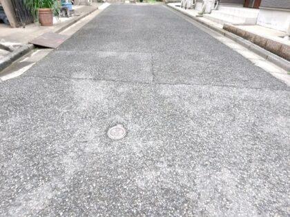 スマイルエコ の 新築一戸建て - 道路は位置指定道路(私道)で問題なし