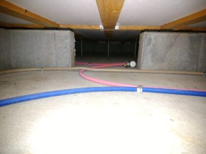サーティーフォー の新築一戸建て - 床下の断熱材等もチェック