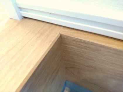 サーティーフォー の新築一戸建て - 玄関框の納まりも綺麗です