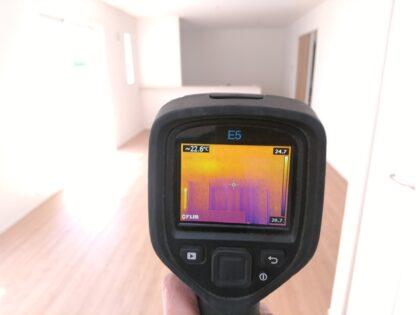 アイディホームの新築一戸建て - 赤外線サーモグラフィー調査
