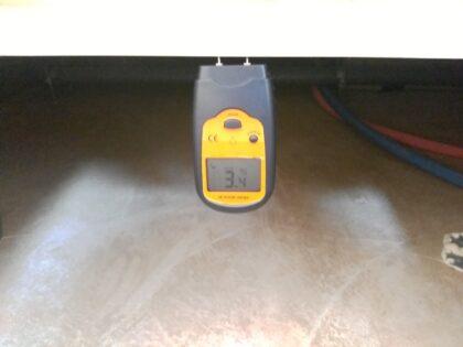 アイディホームの新築一戸建て - 床下の含水率