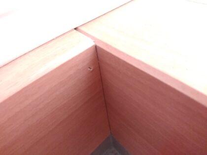アイディホームの新築一戸建て - 框のキズ