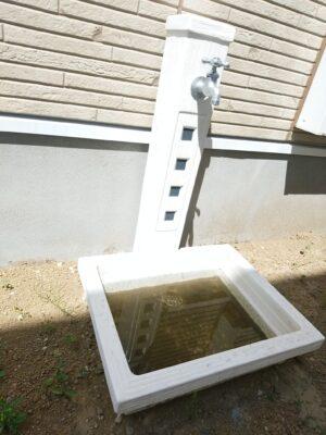 アイディホームの新築一戸建て - 外水道の排水不良