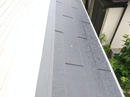 一建設 (相模原市)の 新築一戸建て - 屋根のコーキングに汚れあり