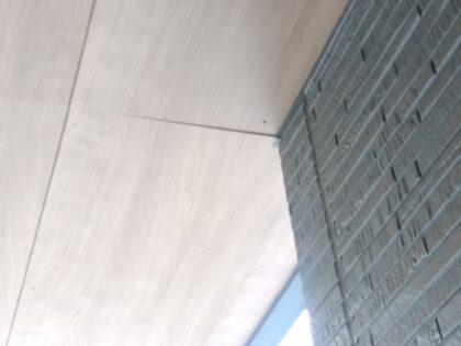 一建設 (相模原市)の 新築一戸建て - 軒天に浮き有り