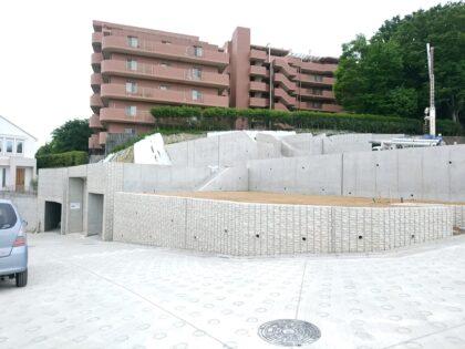デックス (川崎市) の未完成物件- 更地の状態