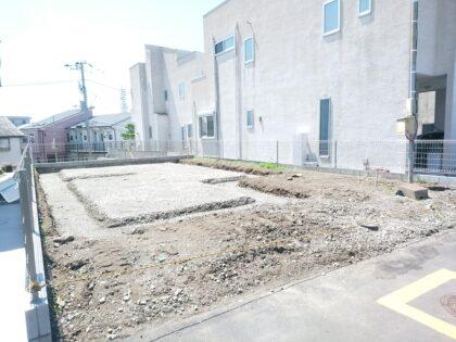 あさひハウジングセンター(藤沢市) の 未完成物件 - 基礎工事が始まっています