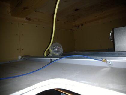 飯田産業(さいたま市) 新築一戸建て - 天井裏の石膏ボード