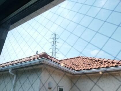 一建設(横浜市)の 新築一戸建て - 窓から高圧線が見えます