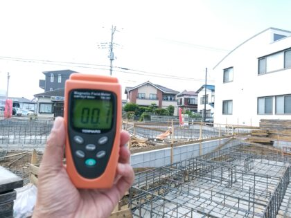 アーネストワン(八千代市)の 未完成物件 - 電磁波測定