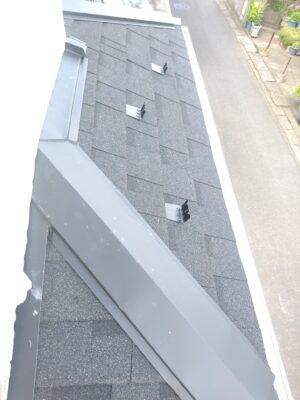 東栄住宅 (松戸市) の新築一戸建てを 建物診断 - 屋根材のチェック