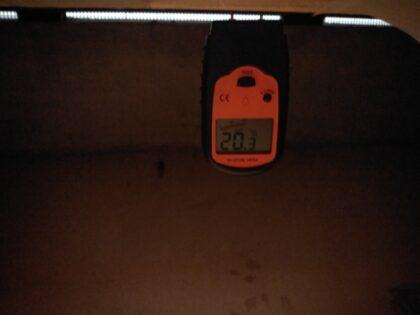 イーカム (茅ヶ崎市) の新築一戸建て - 床下含水率のチェック