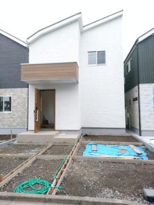 ライズウェル(東村山市)の新築一戸建て - 外構は未了でした