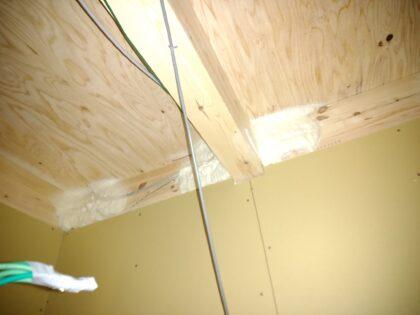ライズウェル(東村山市)の新築一戸建て - 発泡ウレタンの断熱材