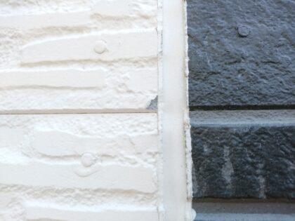 一建設(久喜市)の新築一戸建て - 外壁のキズ