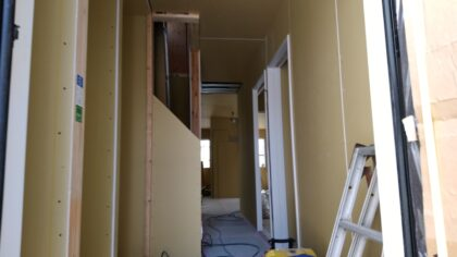一建設(横須賀市) の 新築一戸建て - 工事中の建物内