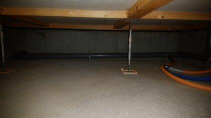 アスティーク(立川市)の新築一戸建て ー 床下チェック