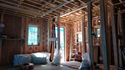 アスティーク(立川市)の新築一戸建て ー まだ建築途中です