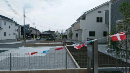 東栄住宅(深谷市)の新築一戸建て - 大型分譲地です