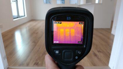 赤外線サーモグラフィーによる建物診断