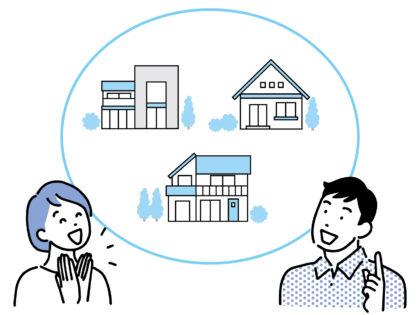 住宅購入の相談をする夫婦