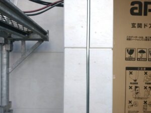 三栄建築設計 の新築一戸建て (越谷市) - 外壁の取り付け釘