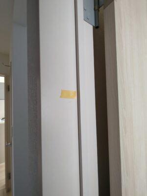 新築分譲住宅 - 建具の不具合