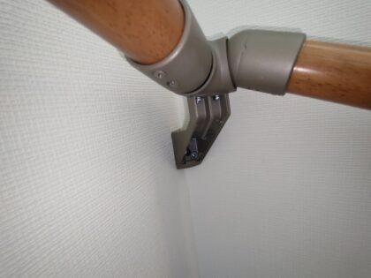 新築分譲住宅 - 階段手摺りの取付不良