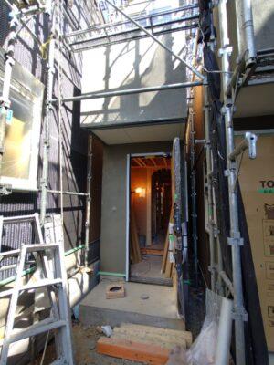 Jホーム で建築中の新築分譲住宅 (板橋区)