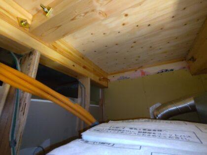 天井裏 正しい施工例
