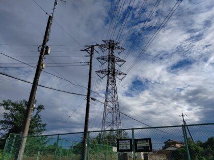 高圧線-鉄塔