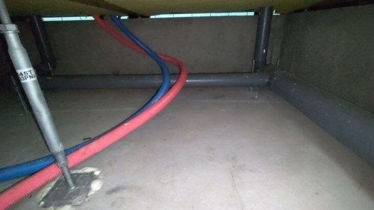 床下の鋼製束