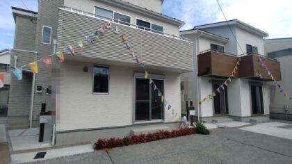 地元工務店が建築した建売住宅