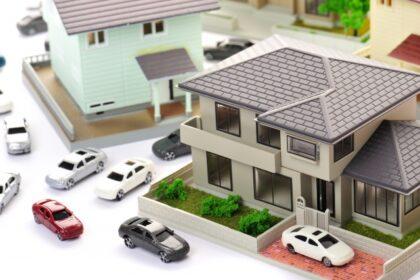 住宅地 駐車場