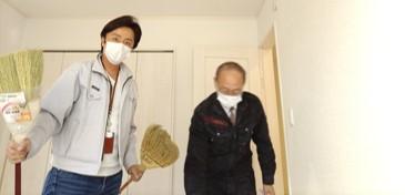 写真左:代表田中・写真右:一級建築士金子