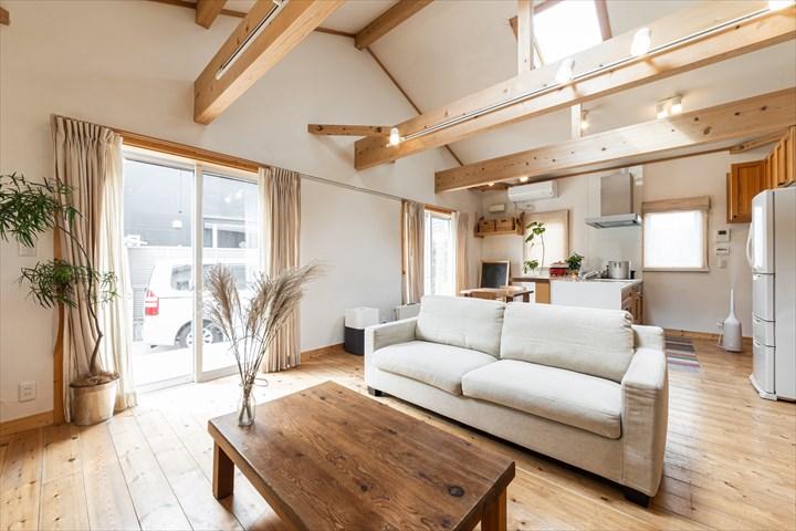 木造住宅リビングルーム